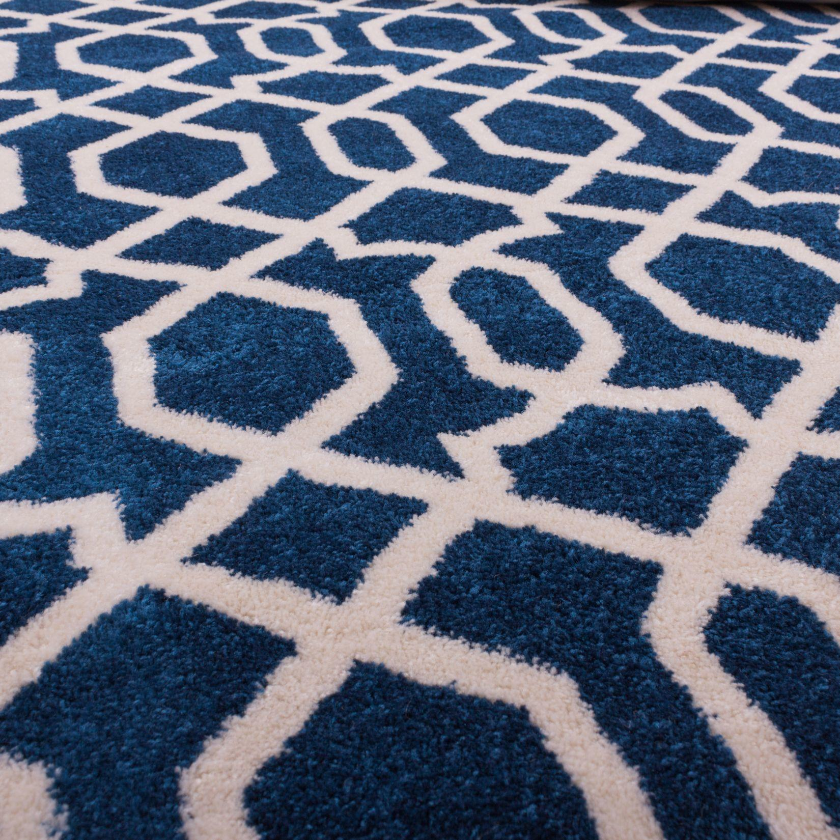 Decor Amazing Flooring Ideas Navy Blue Area