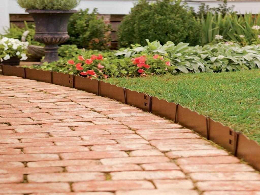 Decor Cheap Landscape Border Edging Ideas