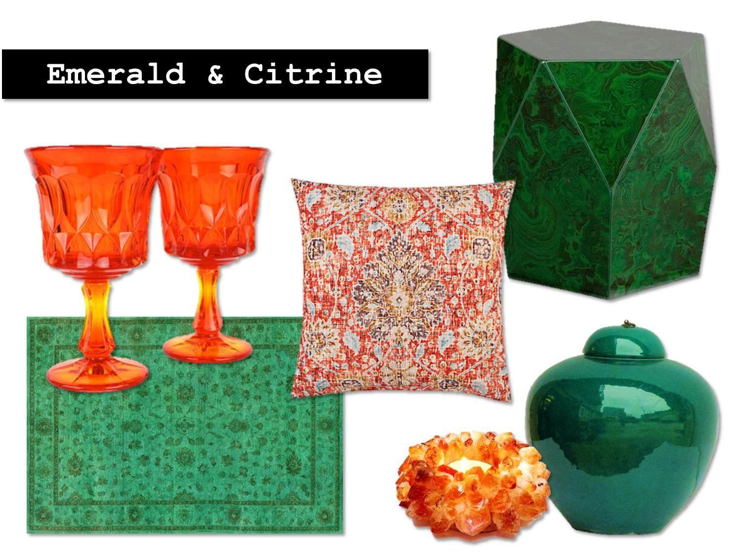 Decor Emerald Citrine Motleydecor