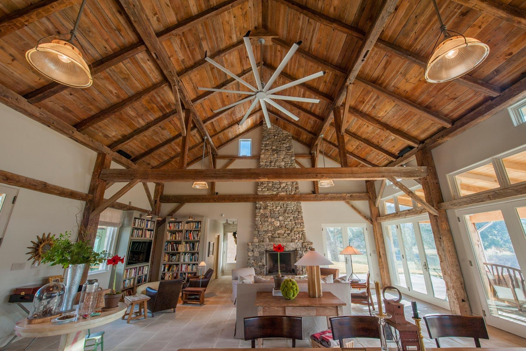 Decor Inside Timber Frame Houses Architecture Toobe8