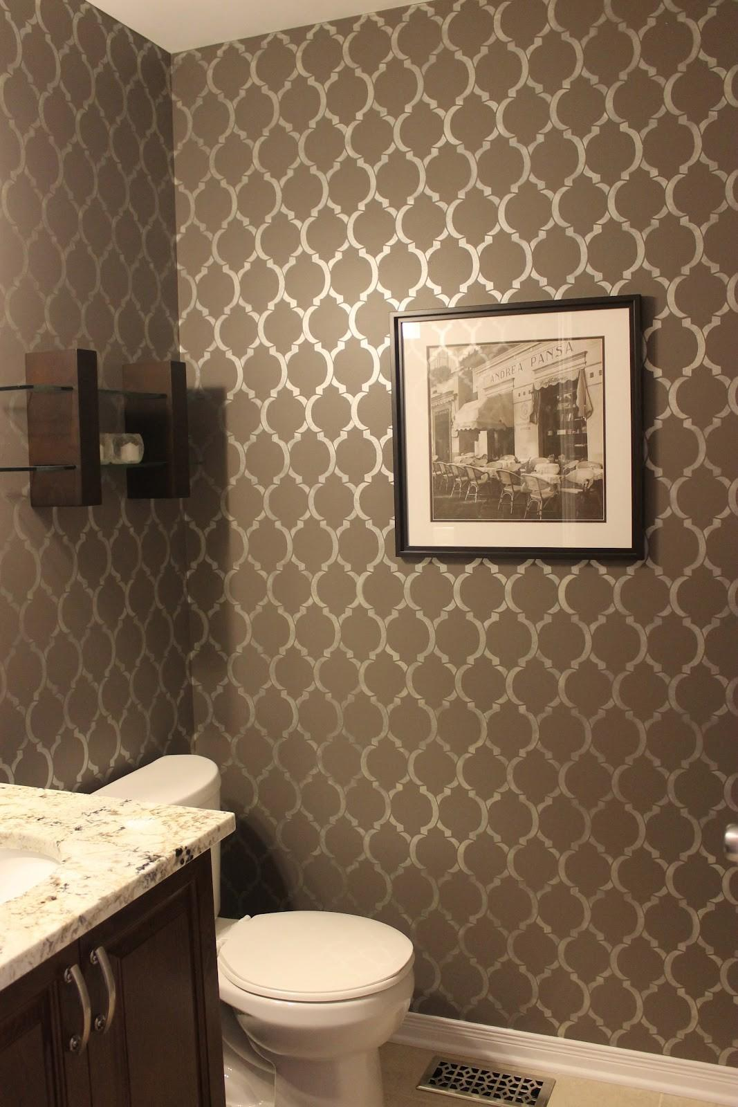 Decor Powder Room Reveal