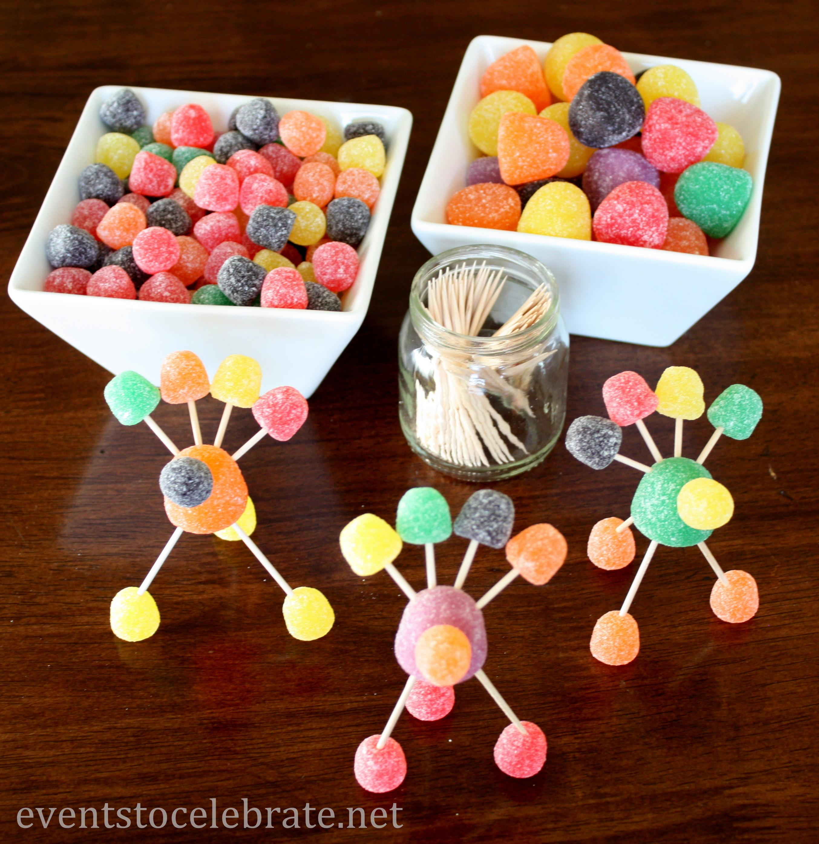 Decor Thanksgiving Table Decorations Kids Make