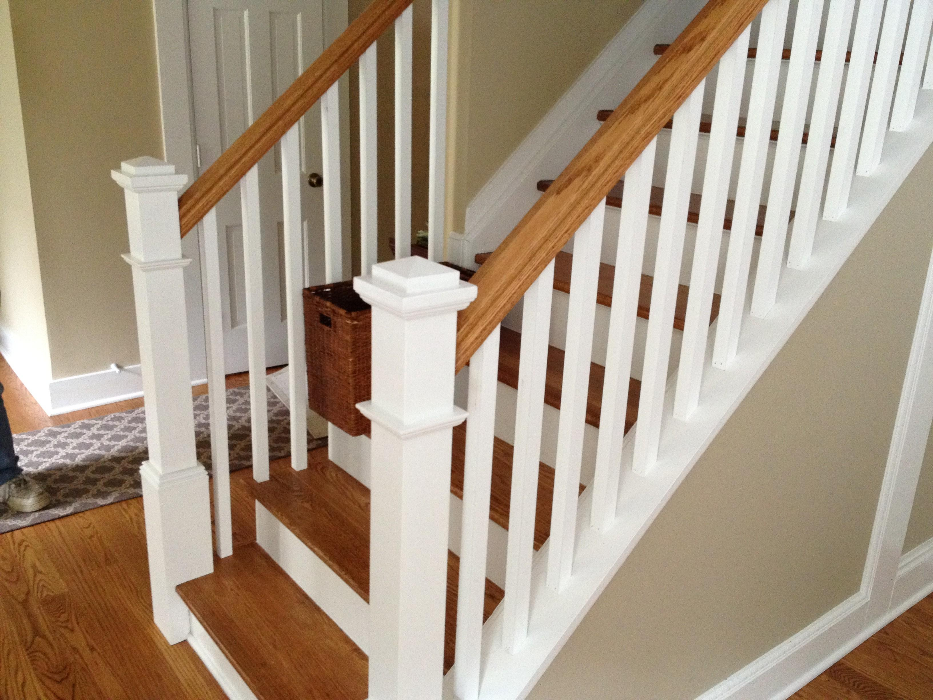 Decor White Baseboard Design Ideas Stair Rails Plus