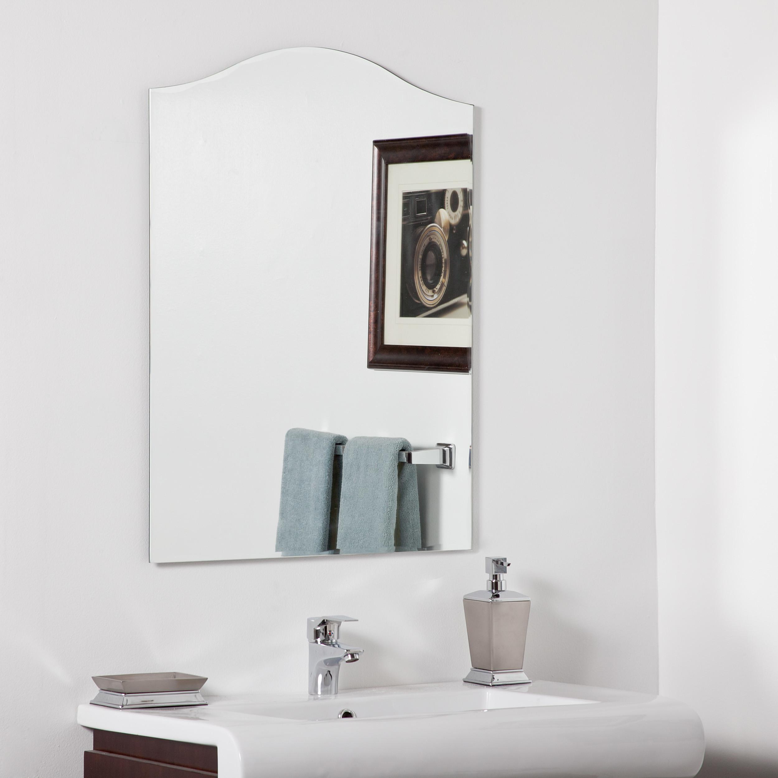Decor Wonderland Allison Modern Bathroom Mirror Beyond