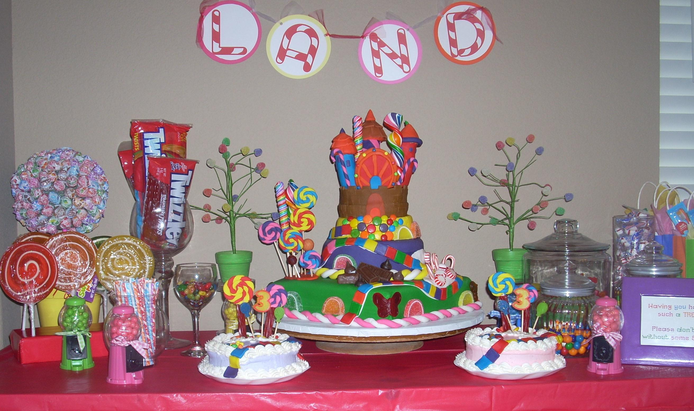 Decorate Candy Table Kids Art Decorating Ideas