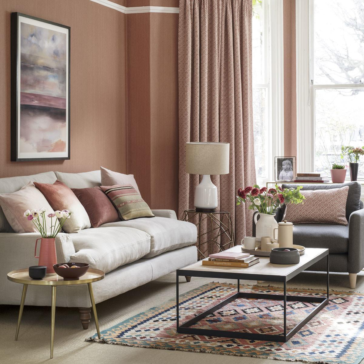 Decorate Coral Blush Tones Ideal Home