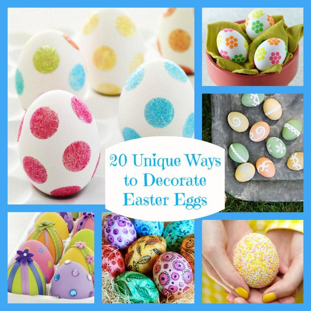 Decorate Easter Eggs Egg