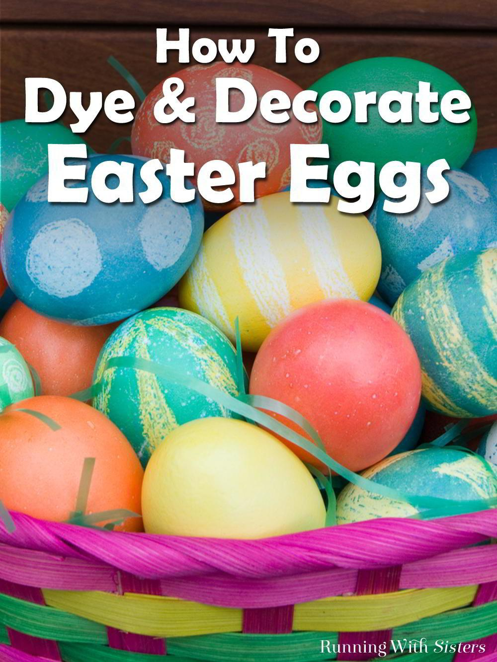 Decorate Easter Eggs Your