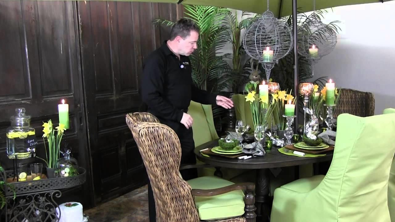 Decorate Easter Spring Party Table Trees