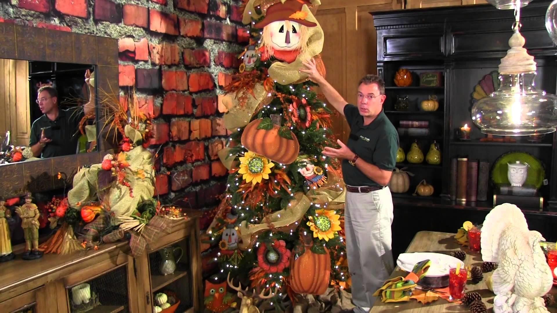 Decorate Fall Thanksgiving Tree