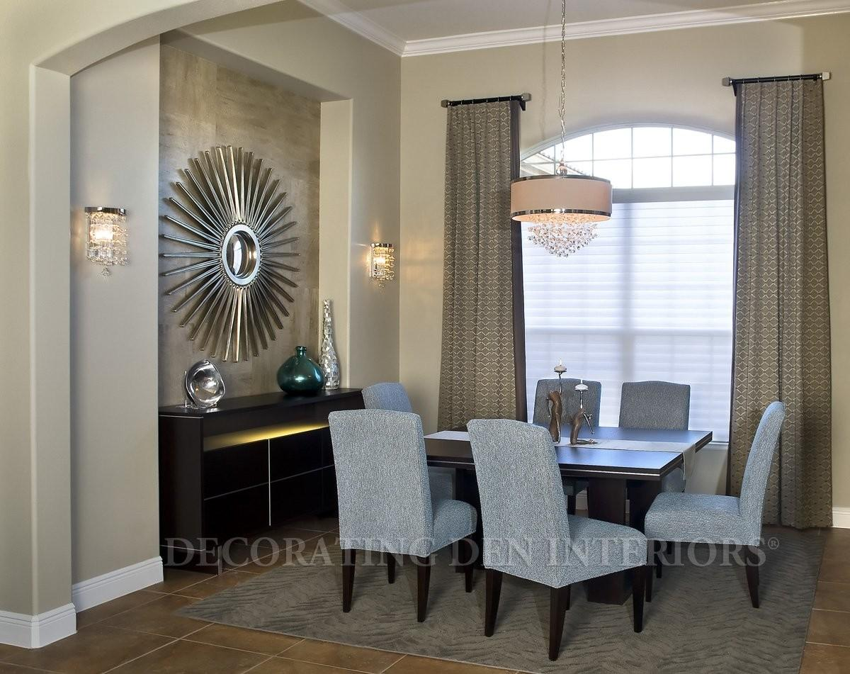 Decorate Recessed Wall Niche Your Dining Room