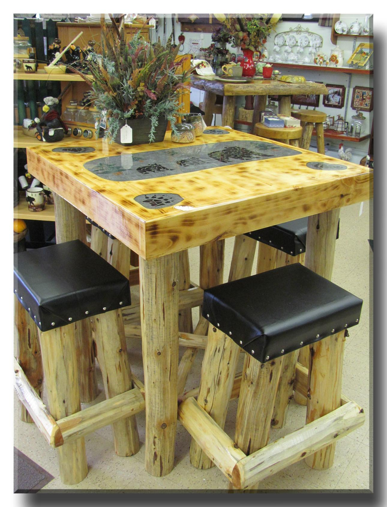 Decorate Rustic End Tables Home Furniture Decor