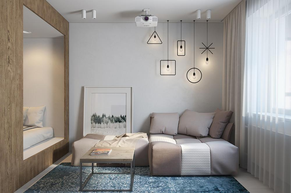 Decorate Simple Small Apartment Design Become Looks