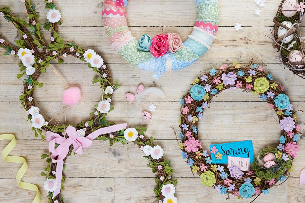 Decorate Spring Bunny Wreath Hobbycraft Blog