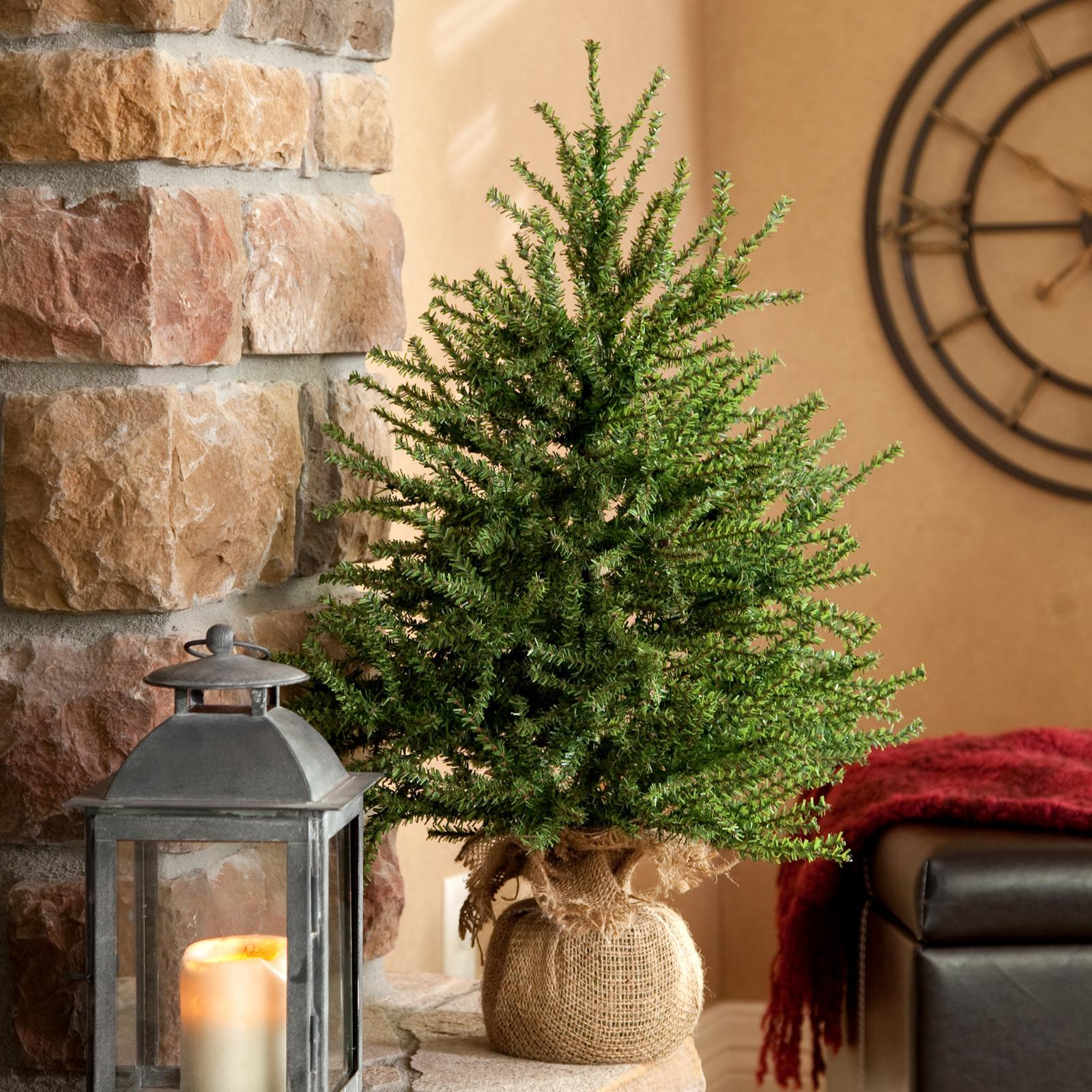 Decorate Table Top Christmas Trees Photograph