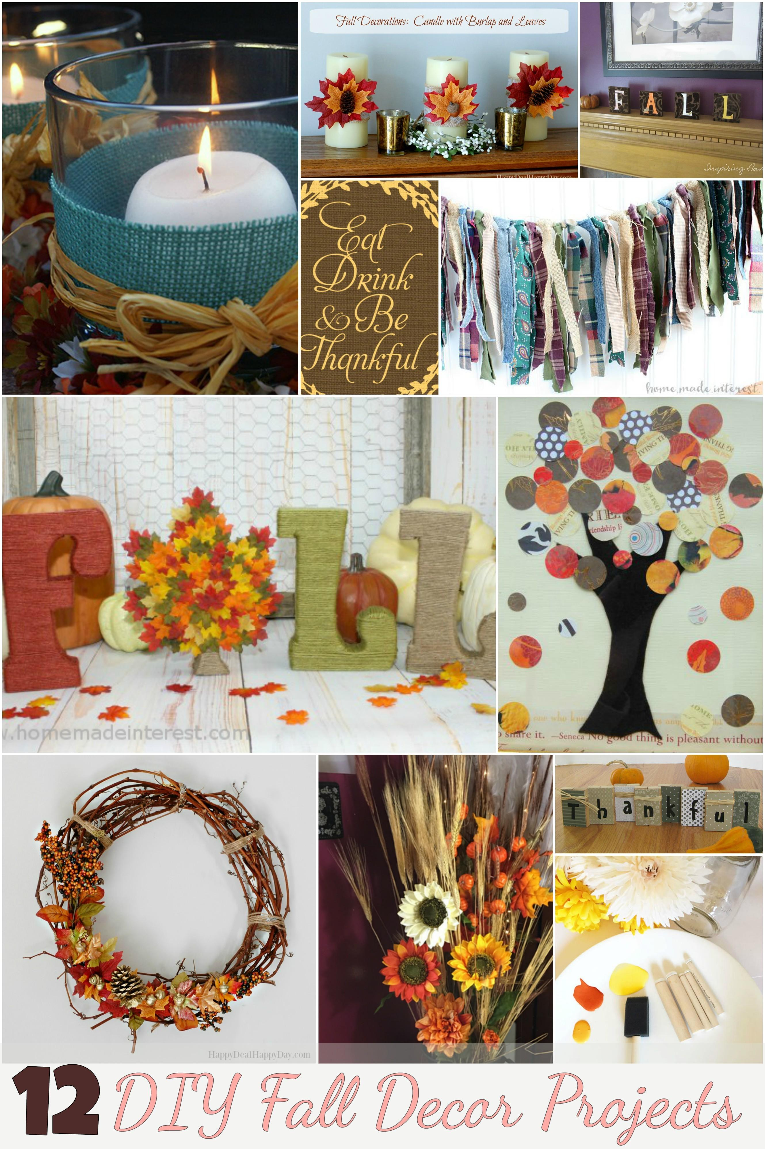 Decorate Thanksgiving These Diy Fall Decor