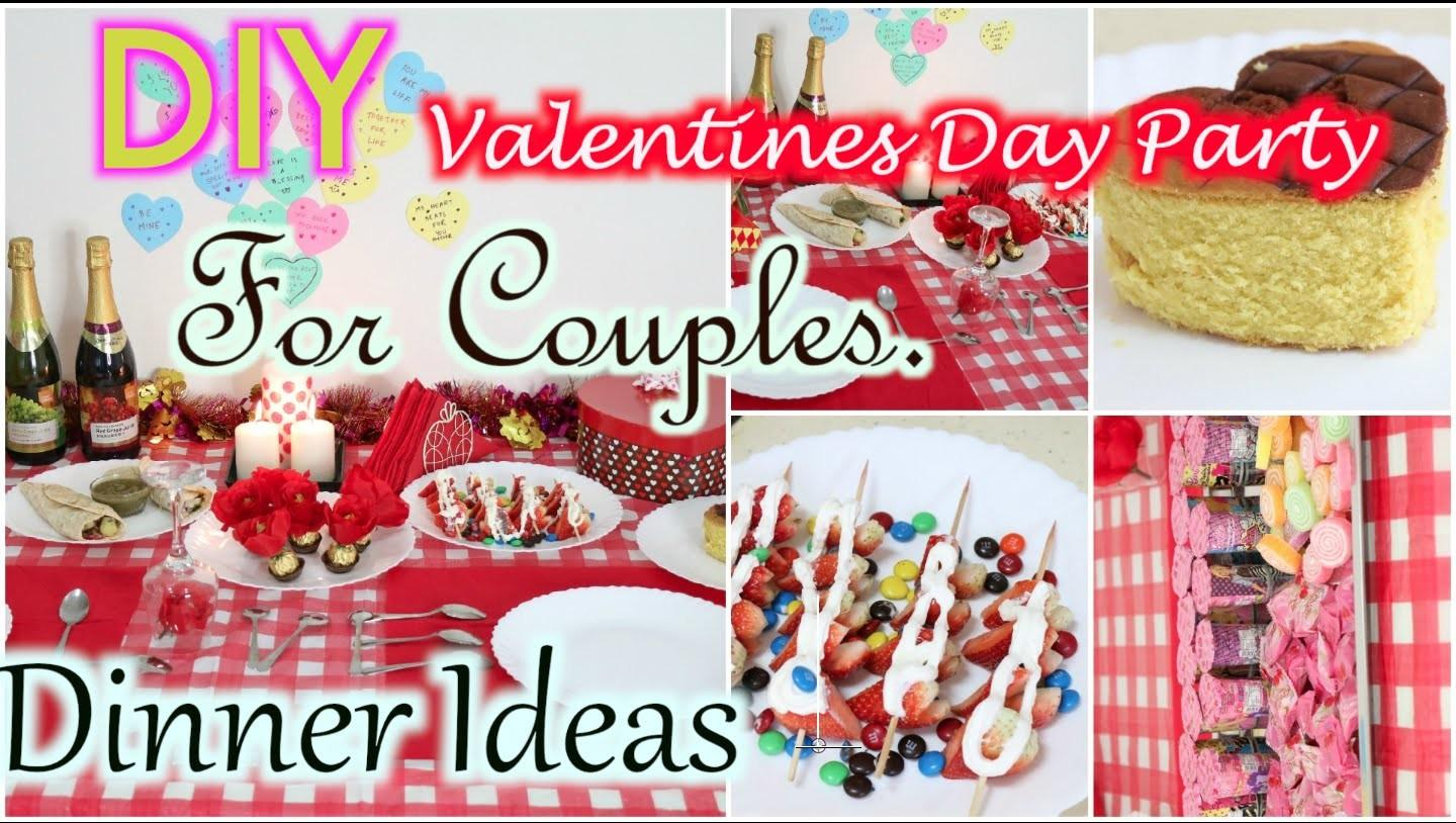Decorate Valentines Day Party Food Treat