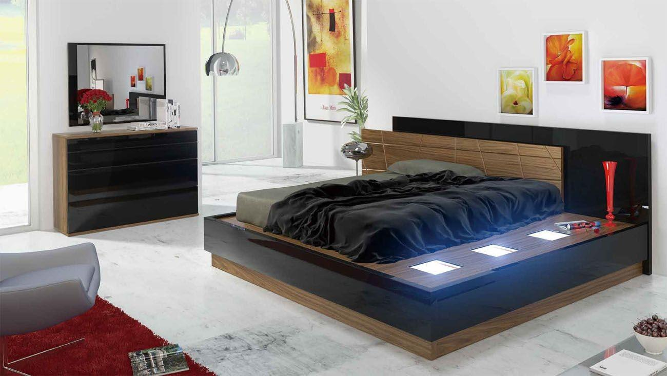 Decorate Your Bedroom Stylish Black Lacquer