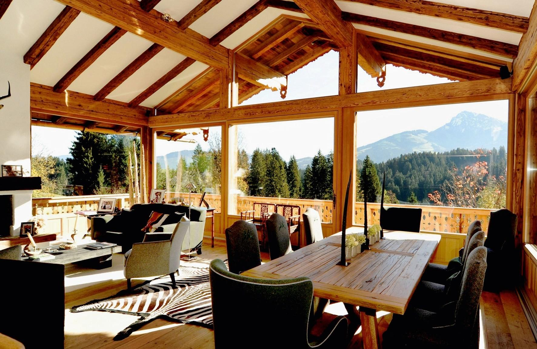 Decorate Your Home Like Cozy Chalet House Photos