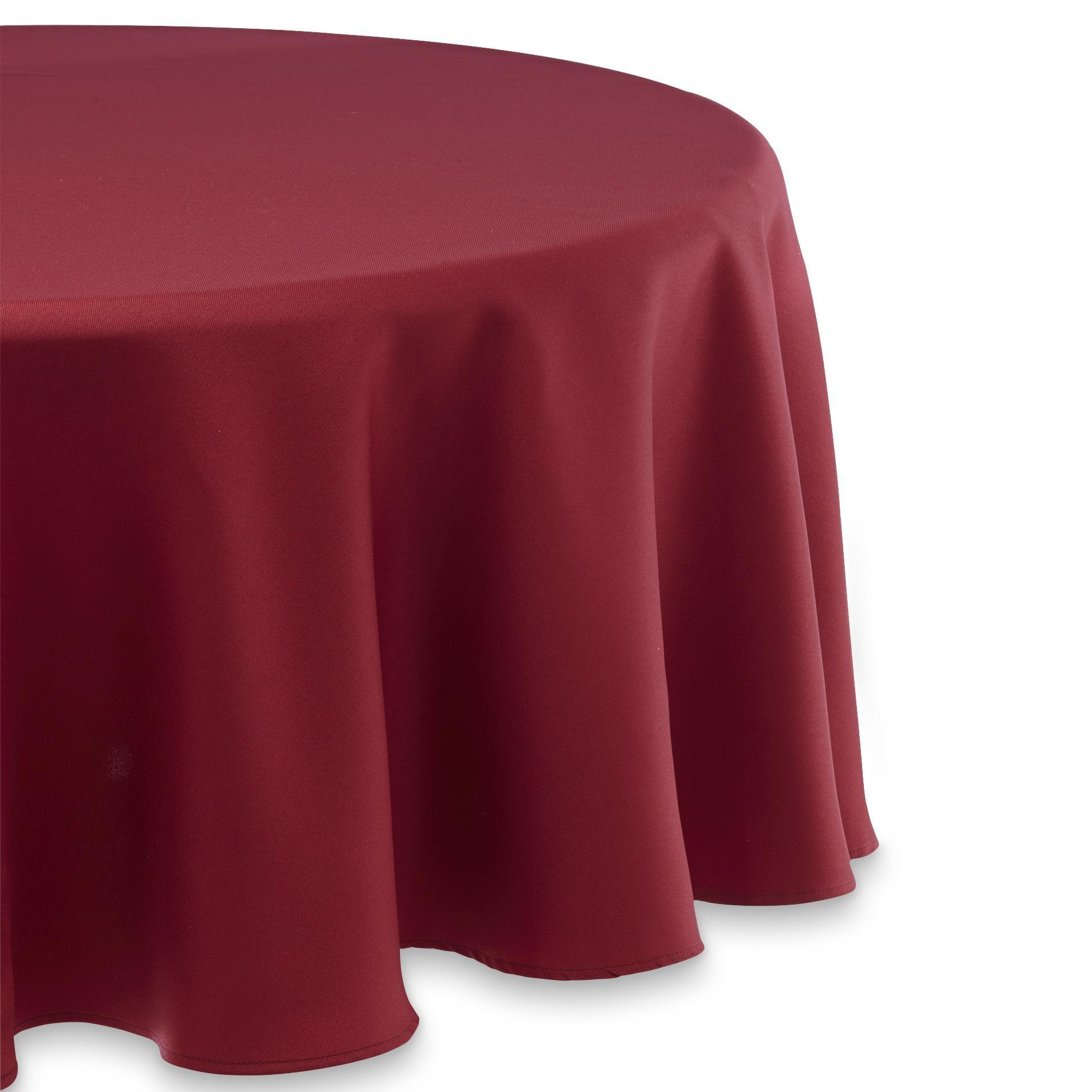 Decorating Astonishing Design Round Tablecloth