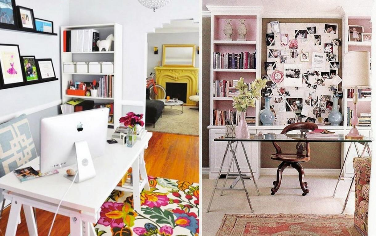 Decorating Beautiful Female Home Office