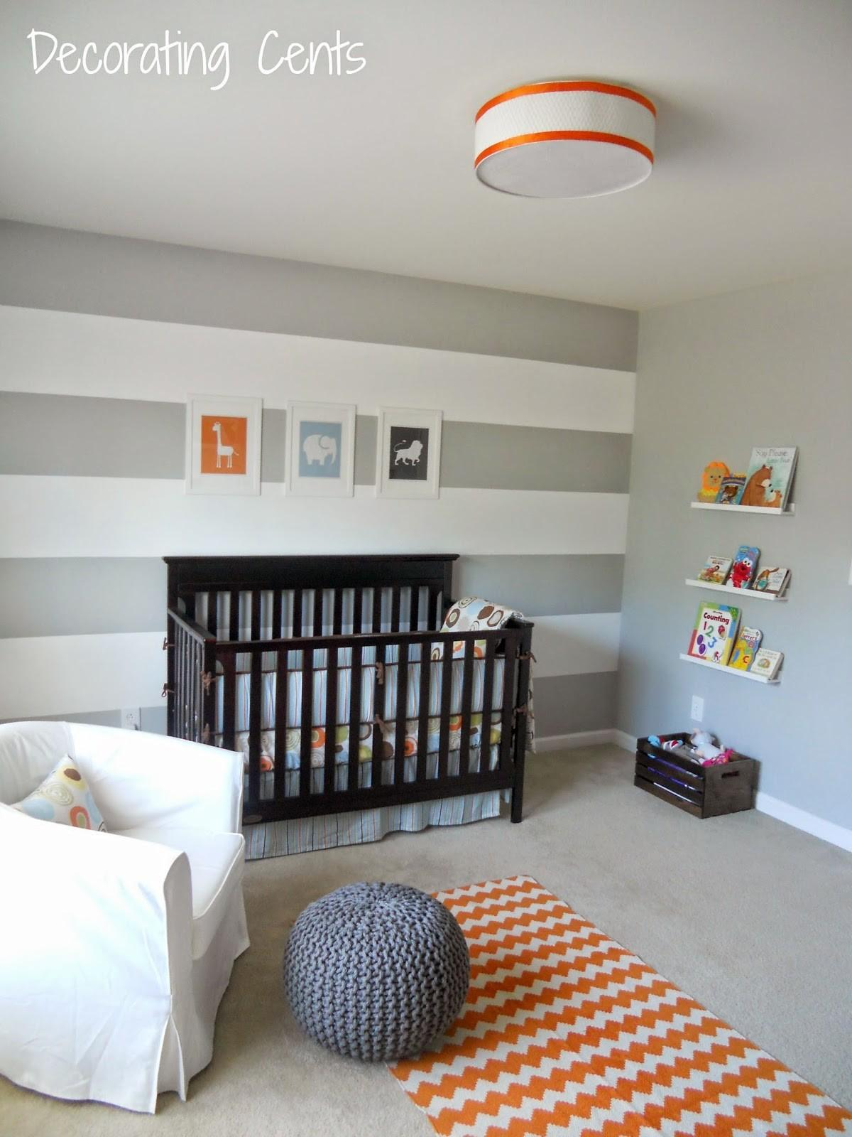 Decorating Cents Accent Walls Nurseries