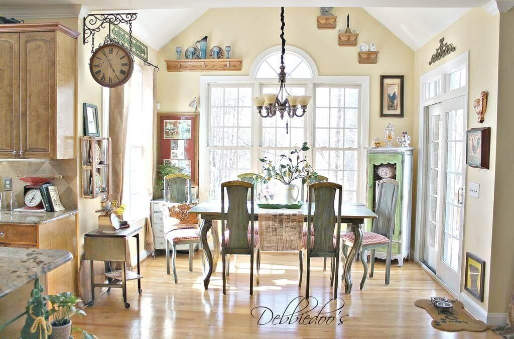 Decorating Dining Room French Country Decor Style