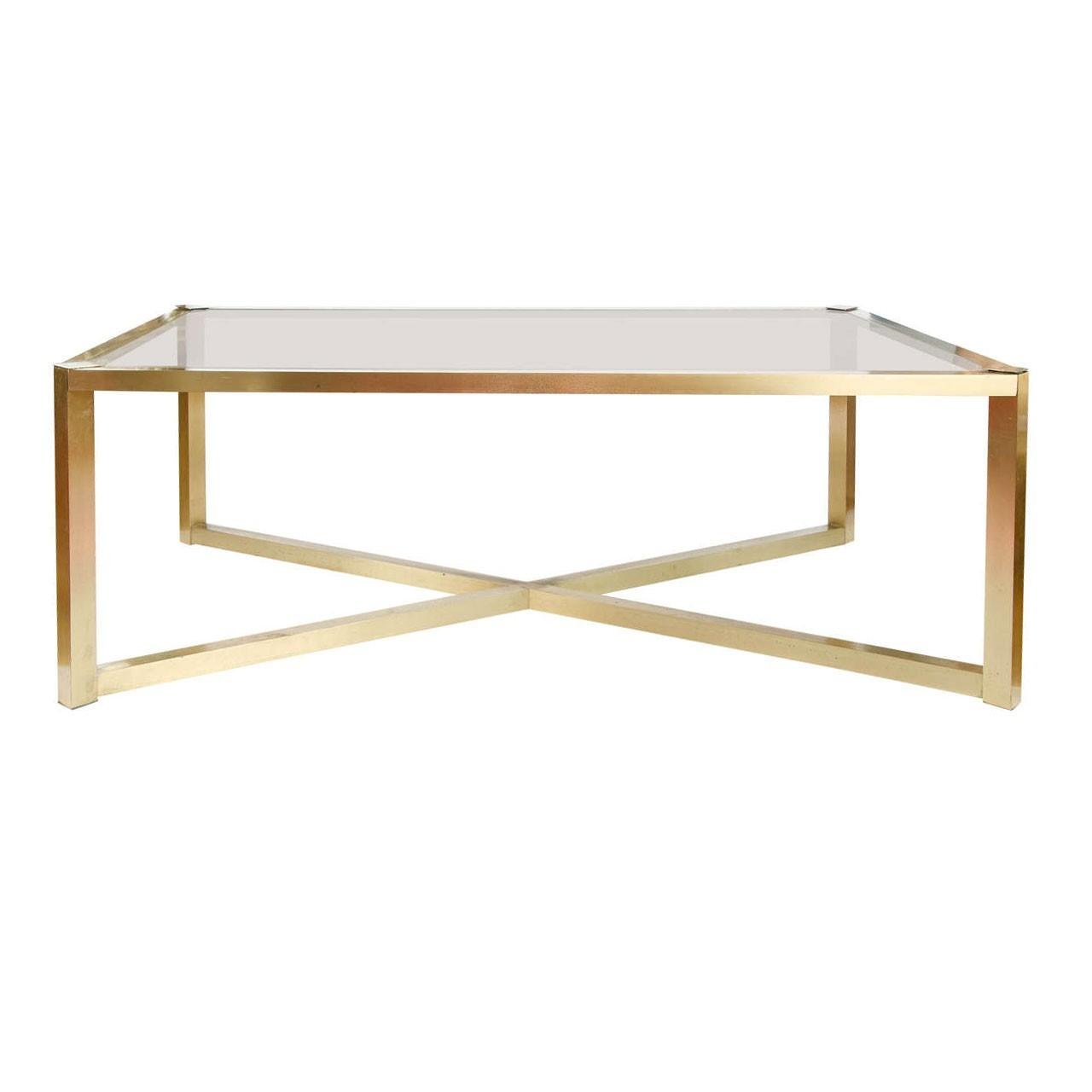 Decorating Ideas Brass Coffee Table Glass Top End