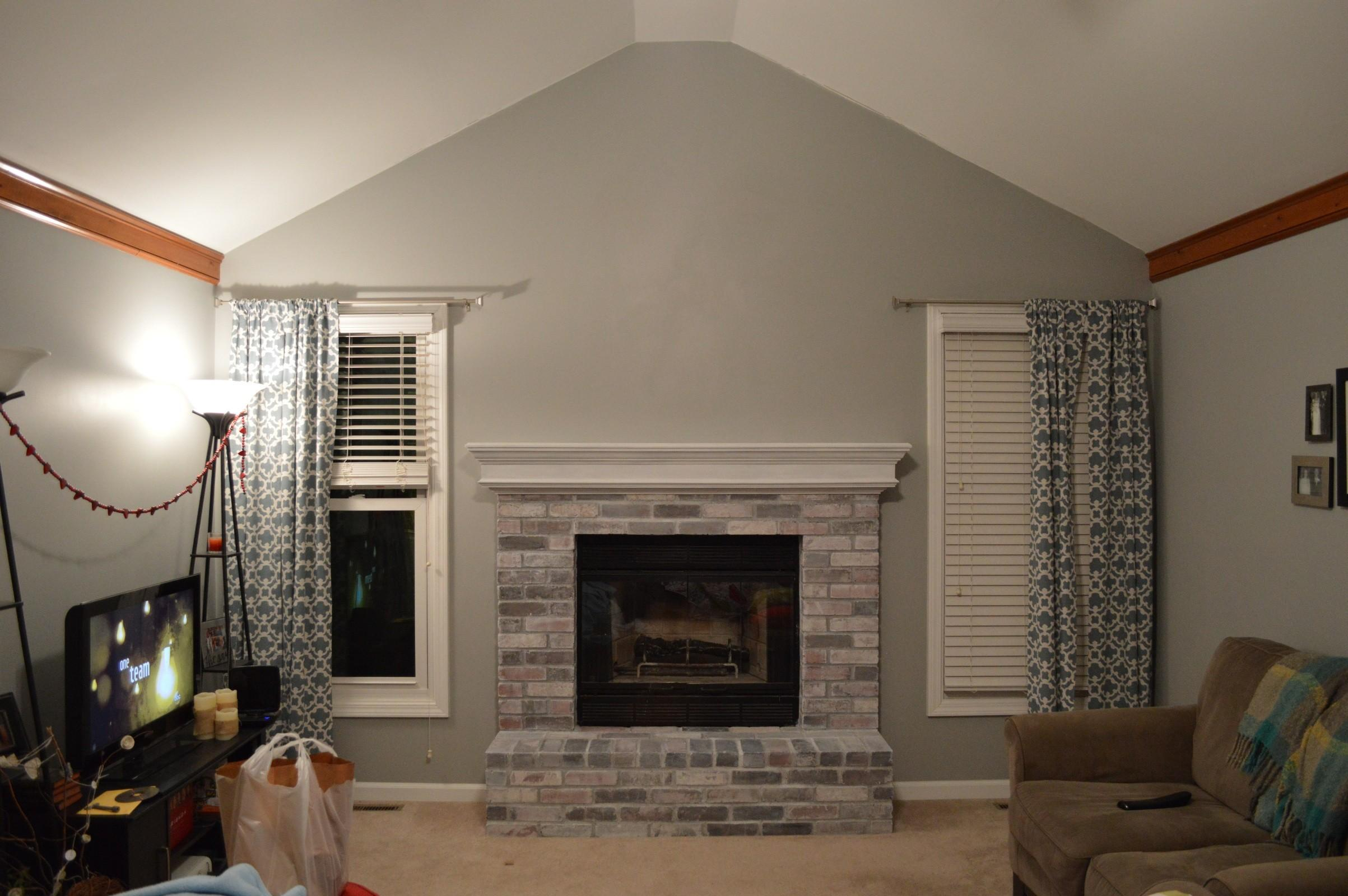 Decorating Ideas Family Room Fireplace Nice