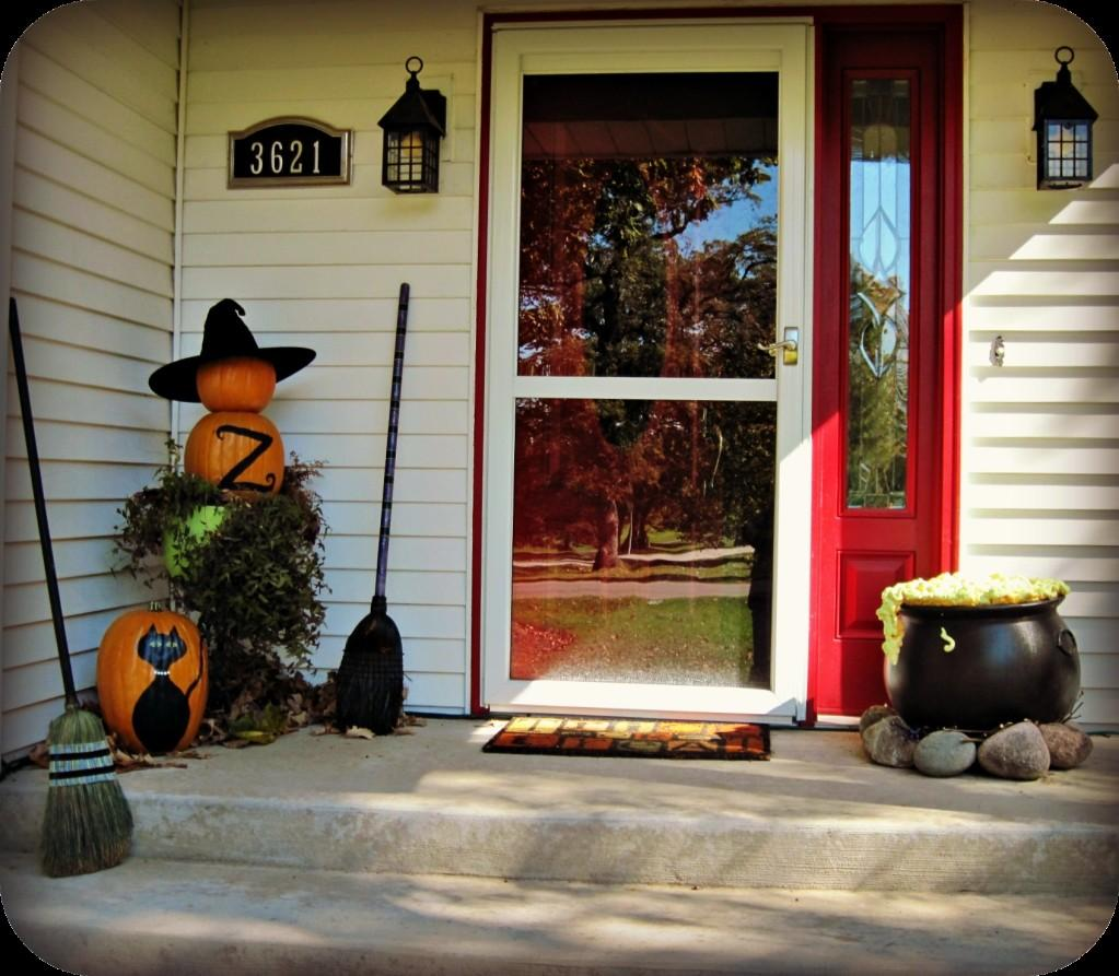 Decorating Ideas Halloween Front Porch