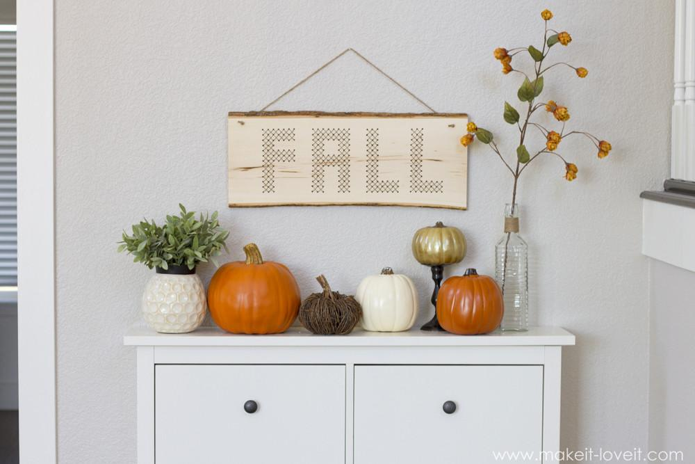 Decorating Ideas Make Your Home Cozy Fall