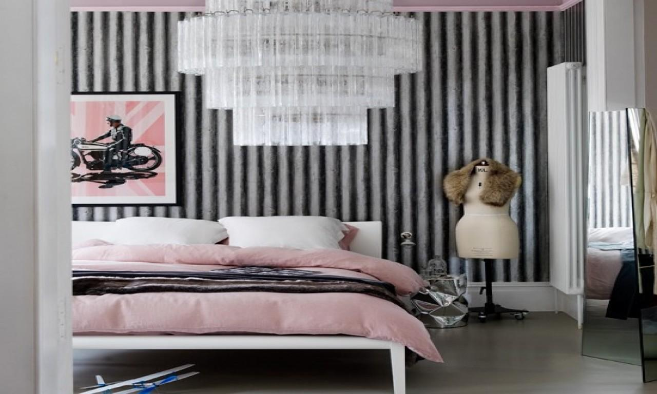 Decorating Ideas Small Homes Pink Black Grey