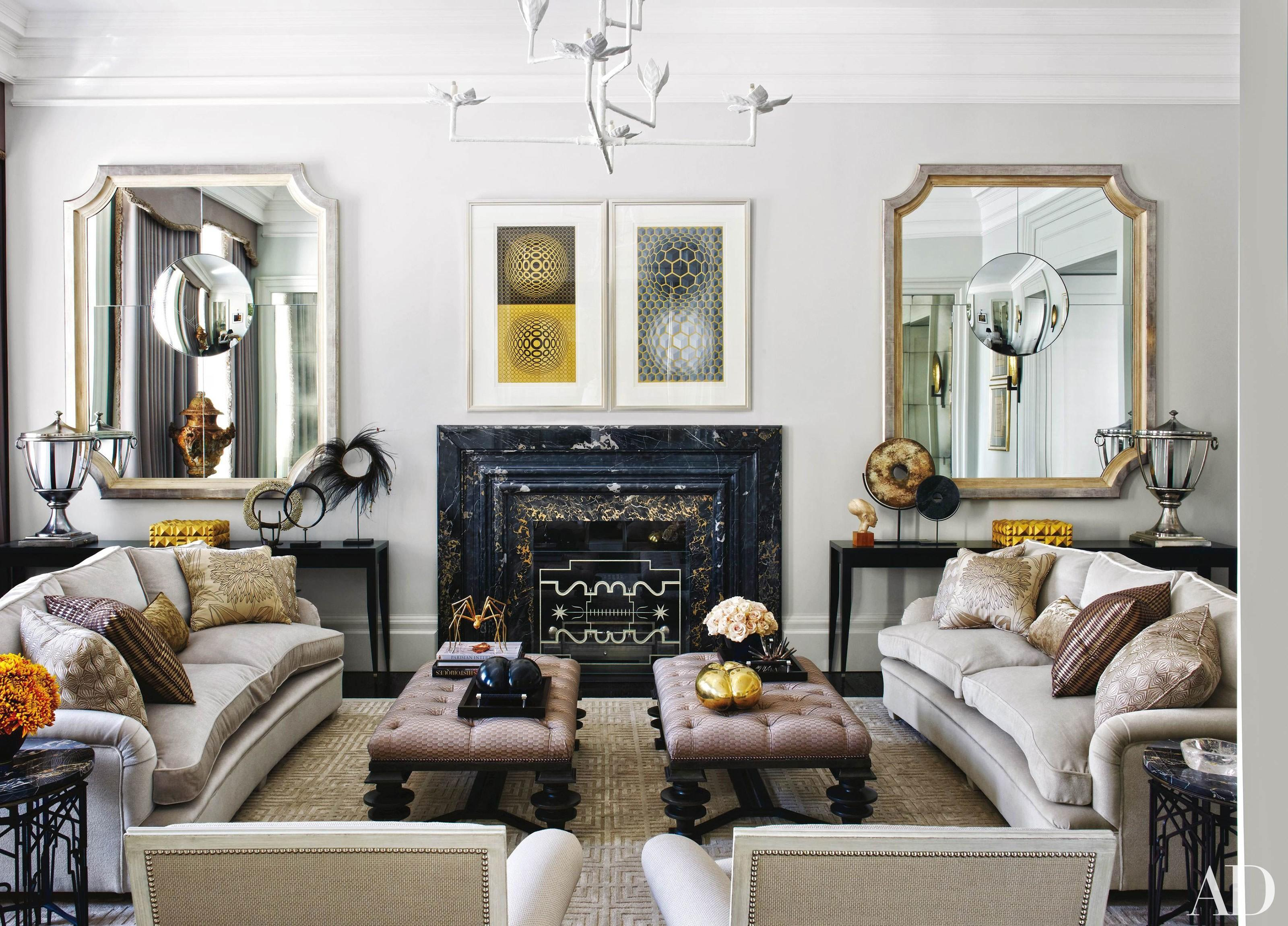 Decorating Mirrors Photos Architectural Digest