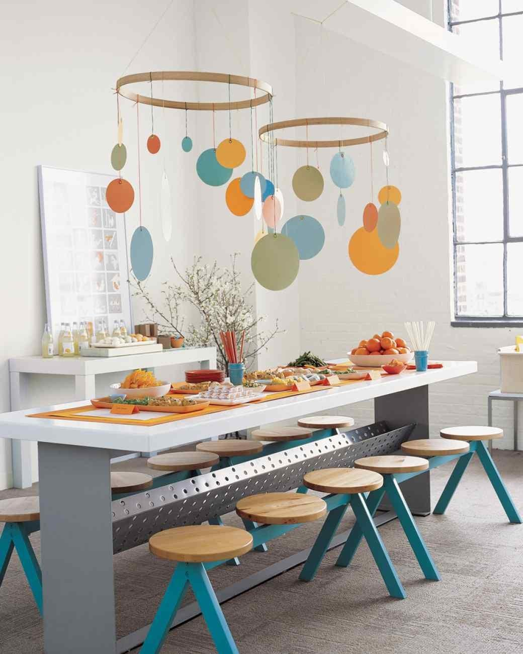Decorating Modern Baby Shower Ideas