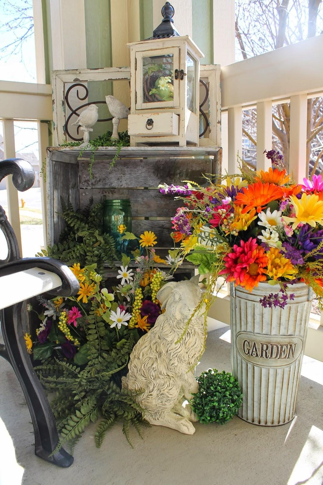 Decorating Spring Your Turn Shine Link Party