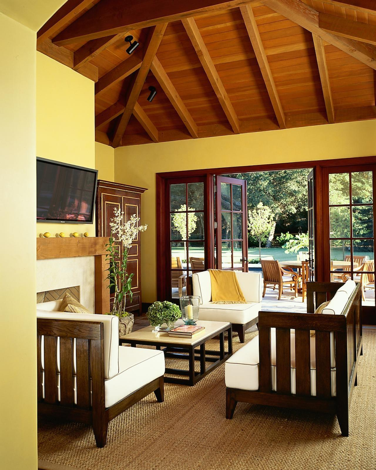 Decorating Sunny Yellow Paint Colors