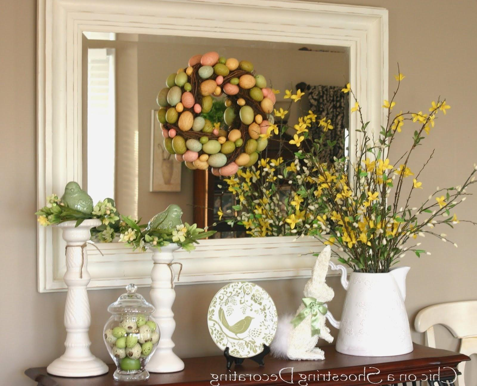 Decorating Tables Living Rooms Foyers