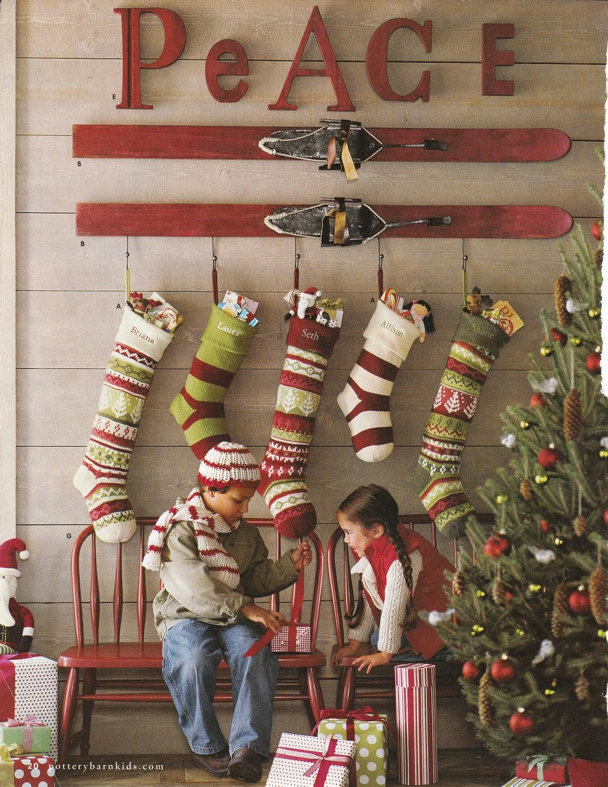 Decorating Vintage Skis Wicker House