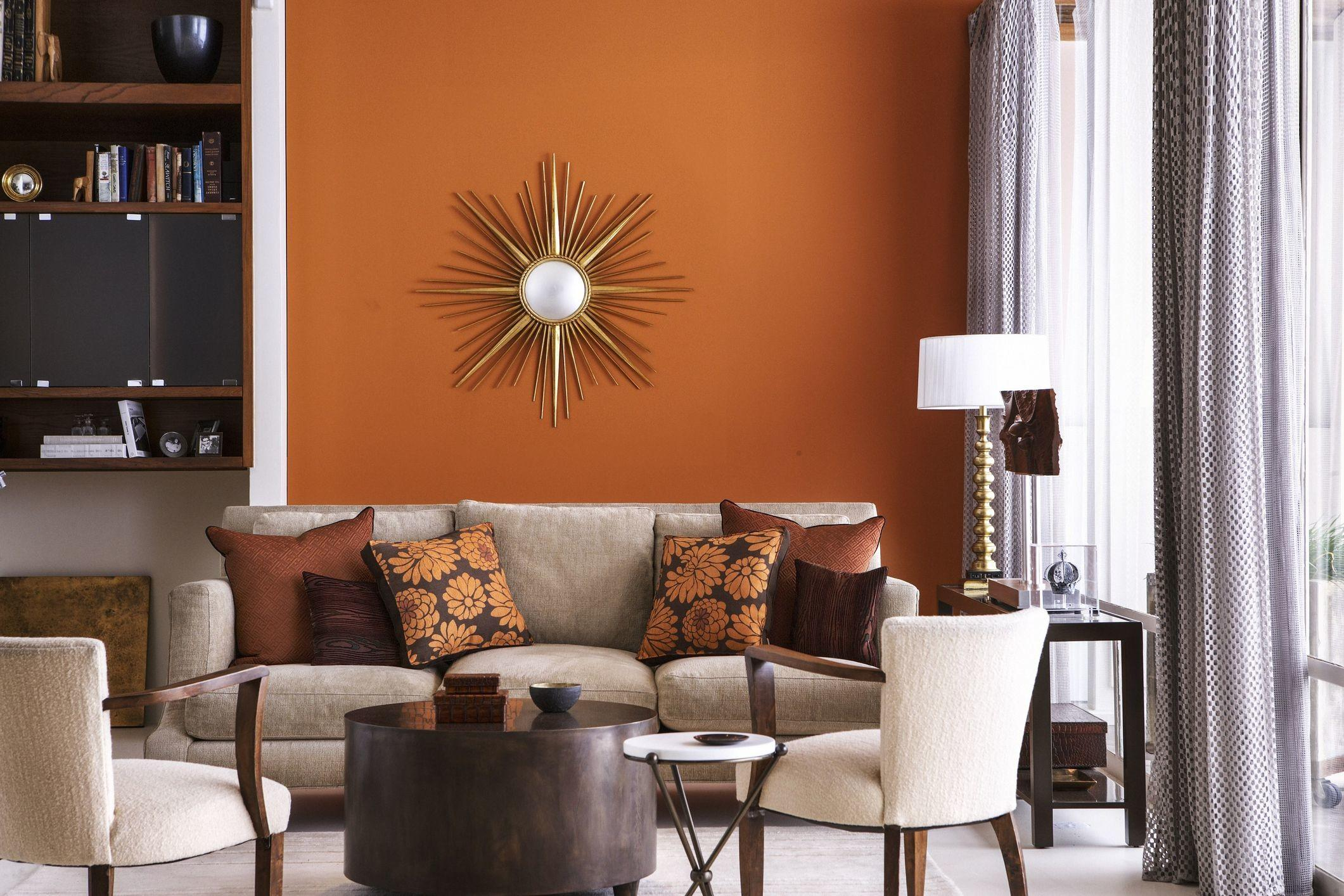 Decorating Warm Color Scheme