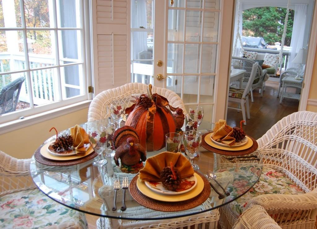 Decoration Dinner Table Diy Thanksgiving Decorations