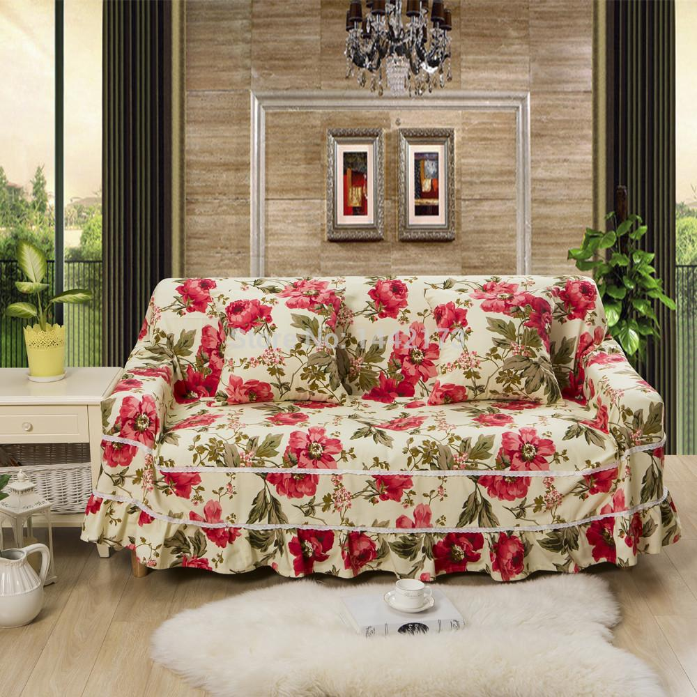 Decoration Ideas Fancy White Embossed Fabric Sofa