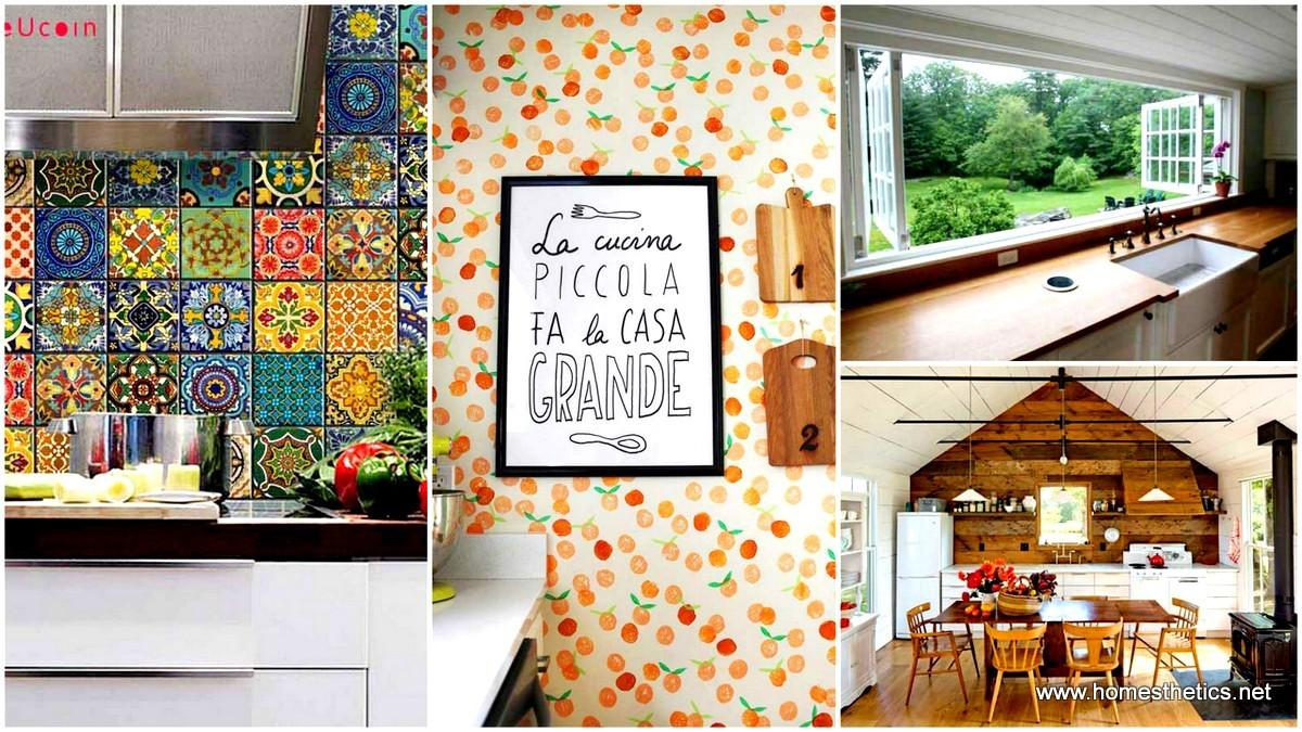 Decoration Ideas Transform Your Kitchen Walls