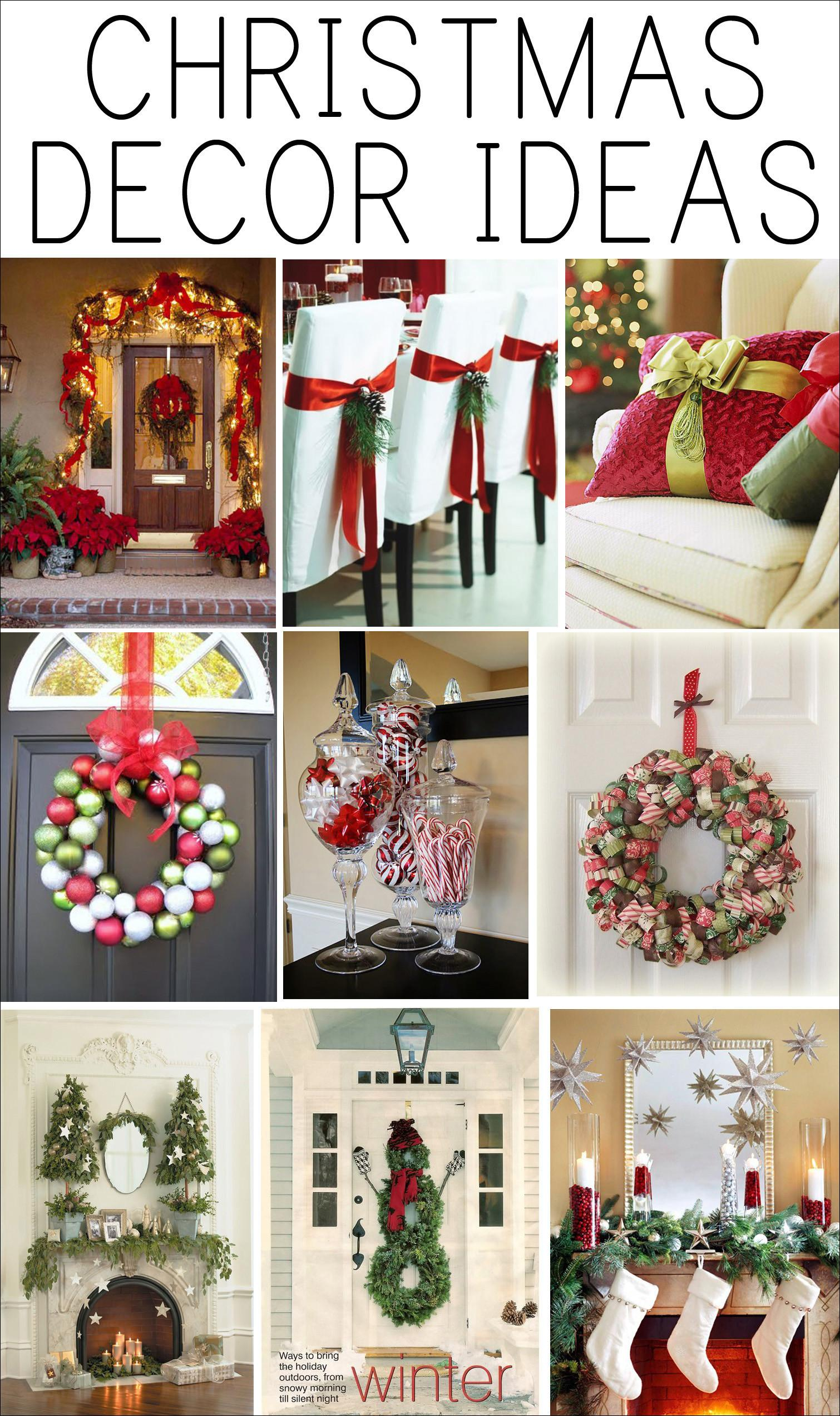 Decoration Simple Design Captivating Christmas Decorating