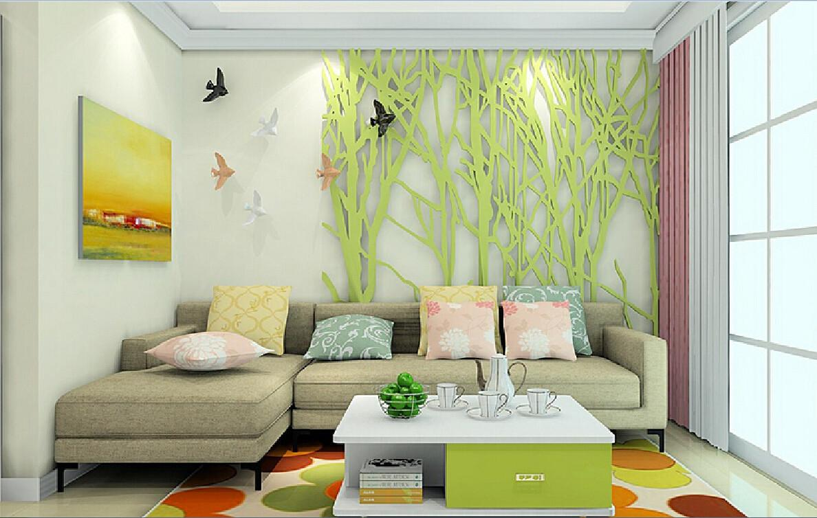 Decoration Wall Living Room Garden Style