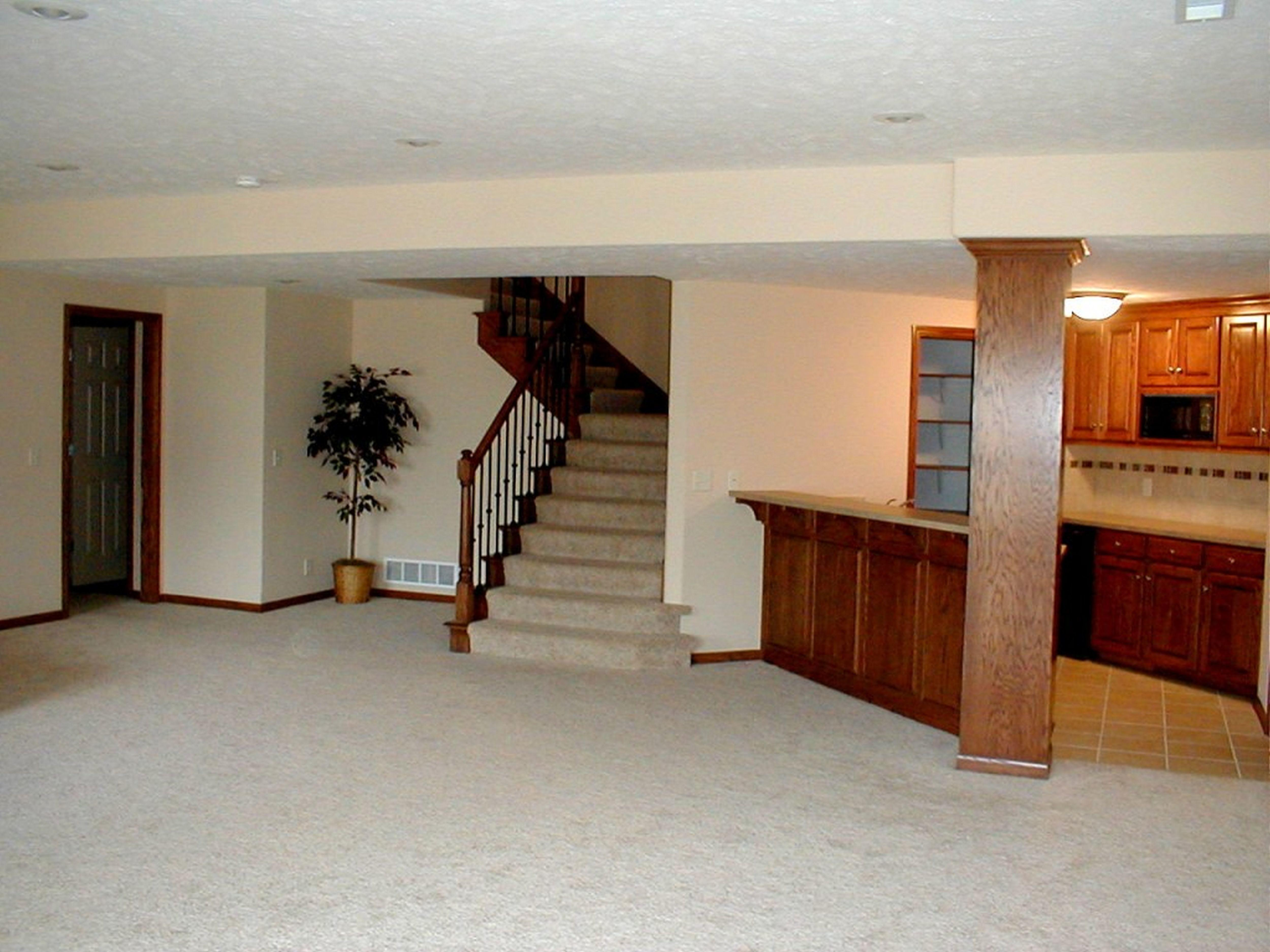 Decorations Basement Family Room Ideas Then