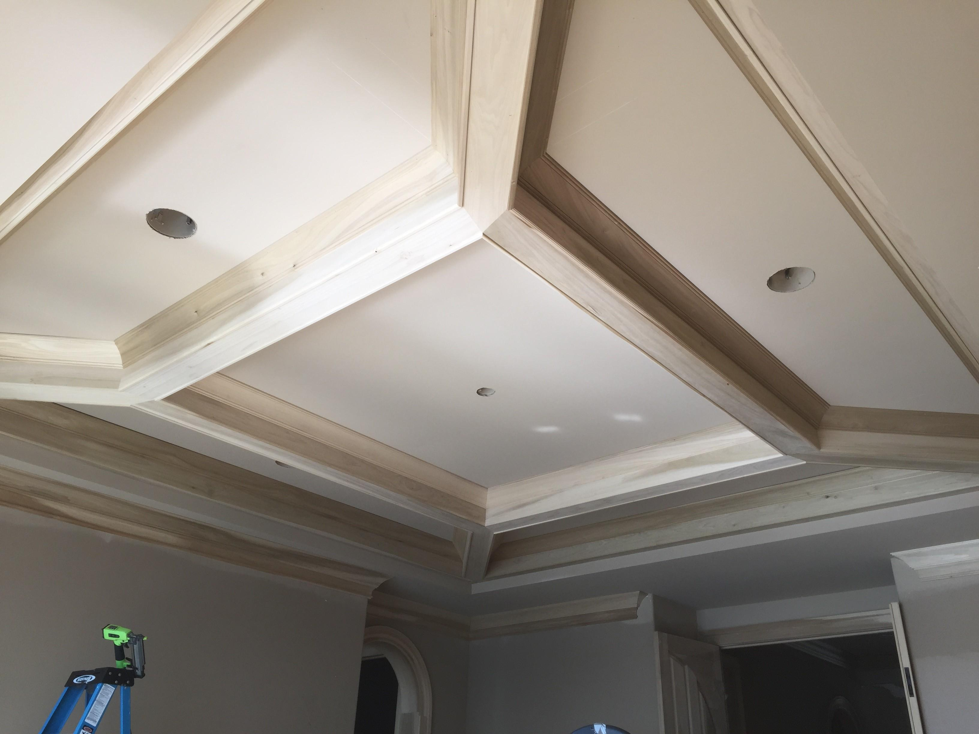 Decorations Coffered Ceiling Appleton Renovations