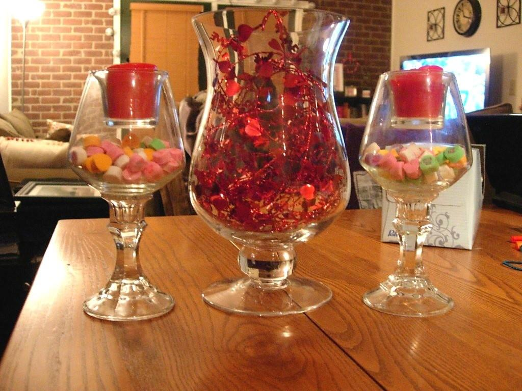 Decorations Diy Simple Centerpiece Candy Glass
