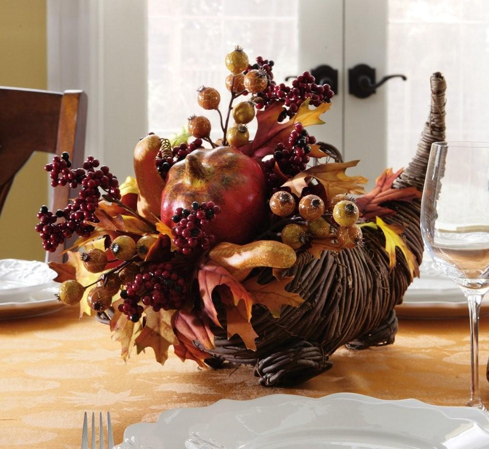 Decorations Easy Thanksgiving Centerpiece Table