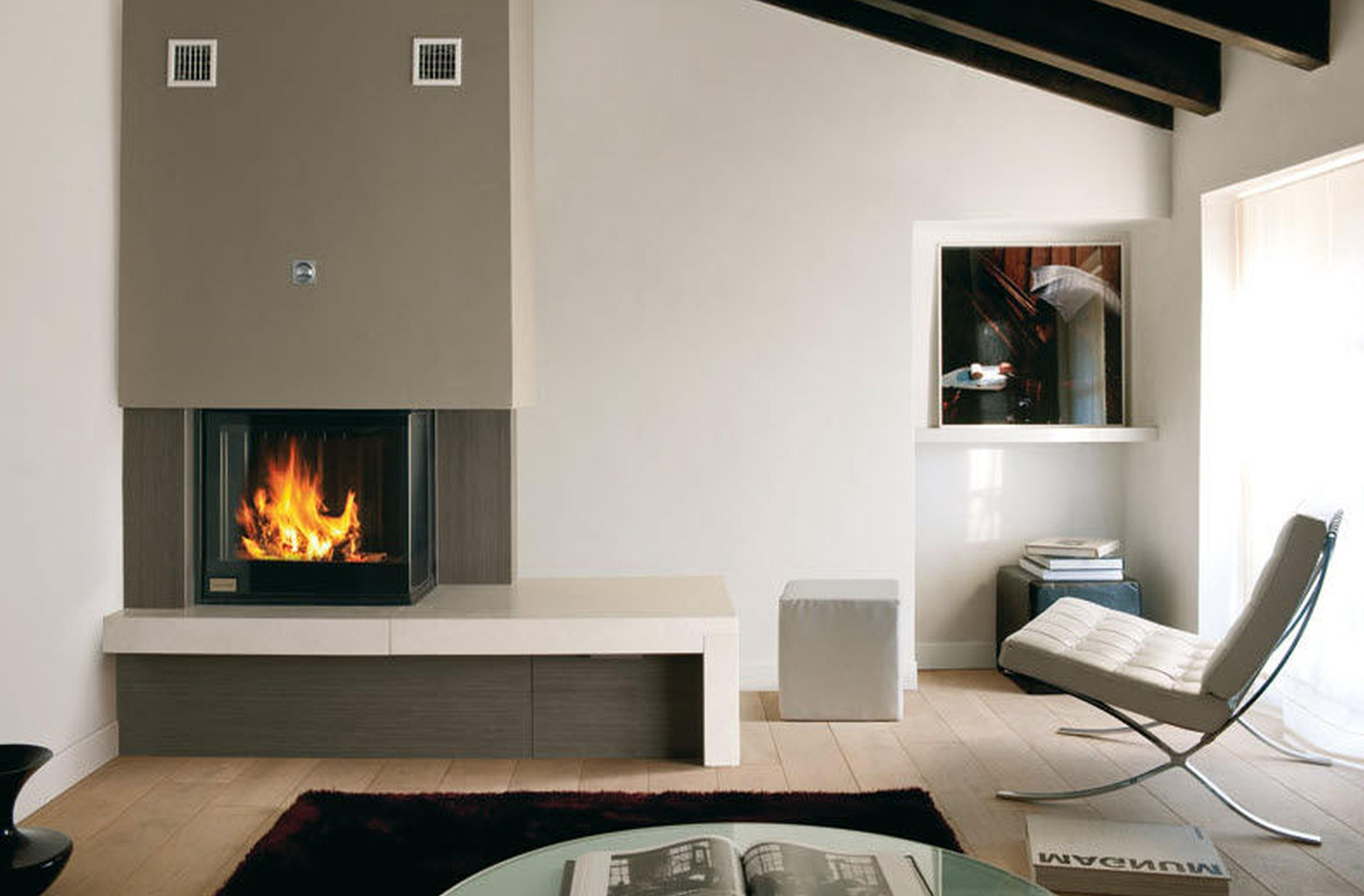 Decorations Fireplaces Designs Supporting Room