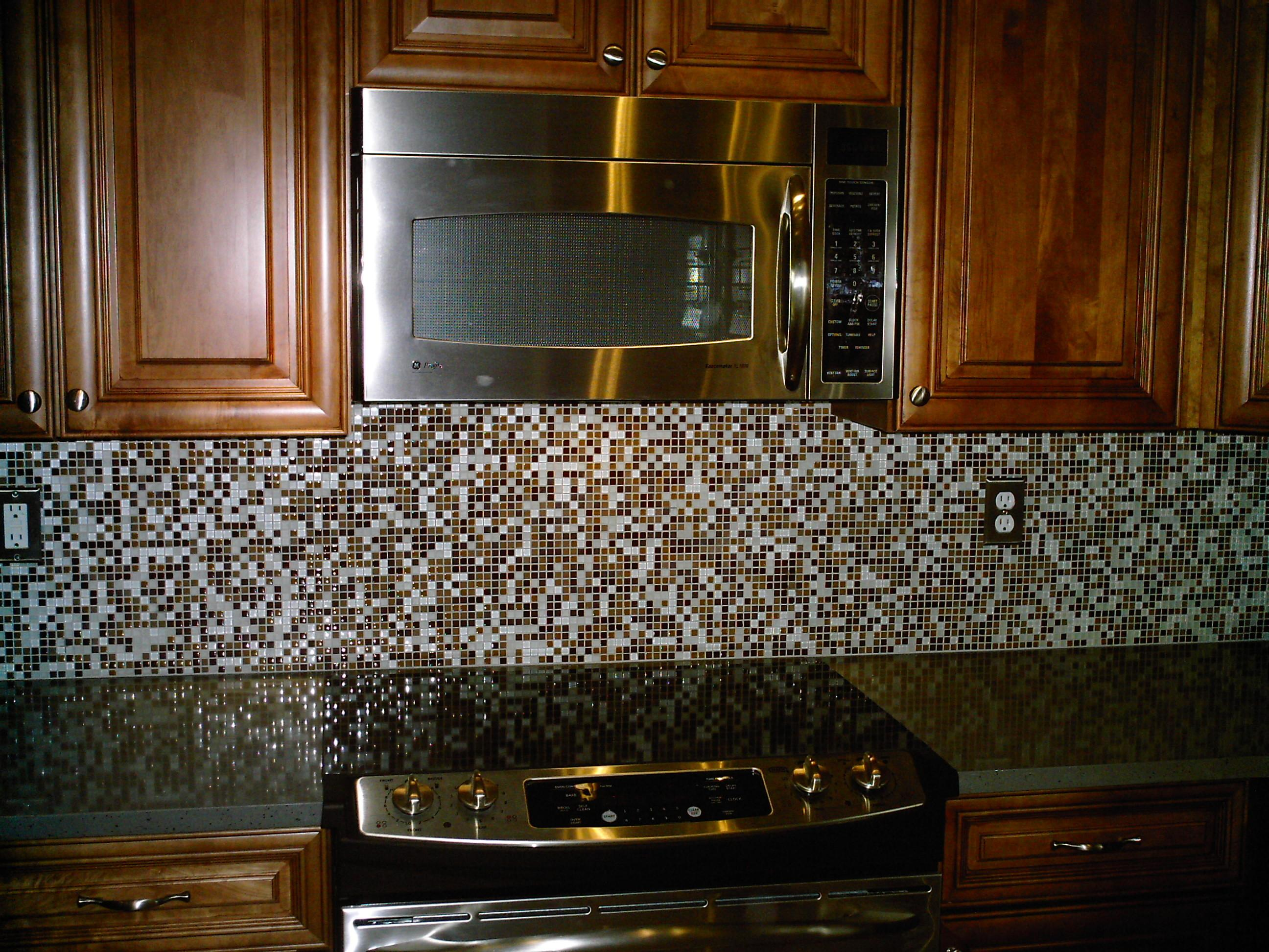 Decorations Kitchen Tile Backsplash Diy Faux